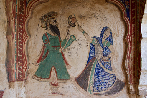 Fresco paintings in Ramgahr
