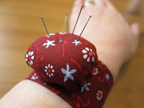 Iron Craft Challenge #10 - Wristband Pincushion