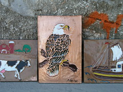 THE EAGLE (Paco Chalkini's) Tags: paint flickr copper paco eagel
