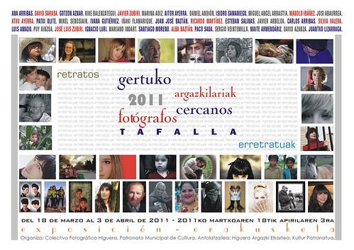cartel retratos 2011