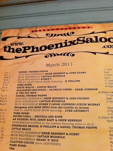 Phoenix Saloon List
