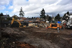 North Parc construction site Inman Street Burnaby (D70) Tags: street winter canada reed concrete is site pc construction nikon bc north under pump condo burnaby 20mm 300 lc avenue complex parc rand f28 komatsu compressor 41 inman unit excavator b20 ingersoll 5655 northparc
