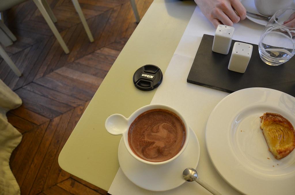 Chocolat chaud à la noix de coco