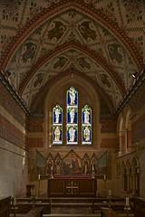 Looking into the Chancel (IanAWood) Tags: london raw stainedglass williammorris putney allsaintschurch churchwindows churchofengland morrisco d3x siredwardburnejones walkingwithmynikon nikkorpce24f35 surreychurches victorianartscrafts
