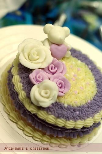 天使媽媽蛋糕皂教學台中 0001