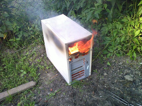 Burn, dork, burn