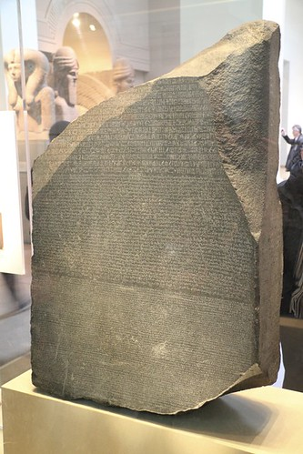 rosetta stone egyptian hieroglyphics. The Rosetta Stone
