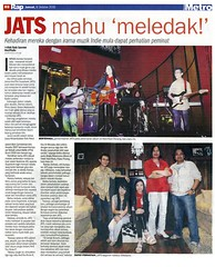 Metro - Janice and the Supertank mahu meledak! 08.10.2010