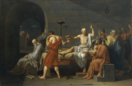 11c12 David The Death of Socrates