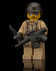 Modern War Commando (~Ghost Soldier~) Tags: modern war lego awesome ghost arc bap prototype commando 2011 brickarms soldier2011