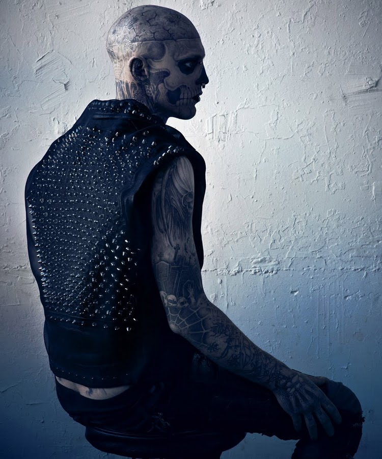 Hard To Be Passive by Mariano Vivanco and Nicola Formichetti Vogue Hommes Japan Magazine 2011 Rick Genest 4