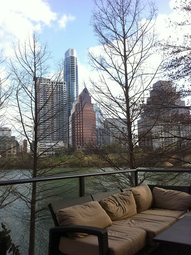 River view of Austin from the Hyatt