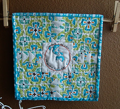 The Earth is the Lord's - Organic Quilt