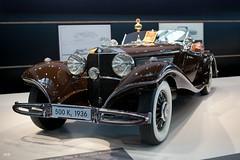 Mercedes-Benz 500K Spezial Roadster 1936 (michab100) Tags: auto show brown cars 1936 vintage germany stuttgart mercedesbenz oldtimer braun mib ausstellung roadster 500k 2011 spezial retroclassic canoneos5dmarkii michab100 retroclassicsstuttgart2011 mibfoto