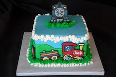 "Thomas the train birthday cake • <a style=""font-size:0.8em;"" href=""http://www.flickr.com/photos/60584691@N02/5525361516/"" target=""_blank"">View on Flickr</a>"