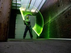 greensweeper (ryantow) Tags: longexposure lightpainting lightsaber ryantow dwcfflightpaint