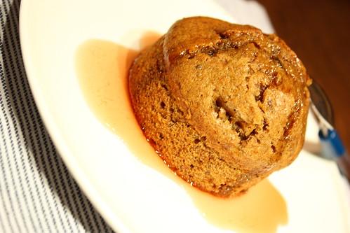 budinca lipicioasa caramel