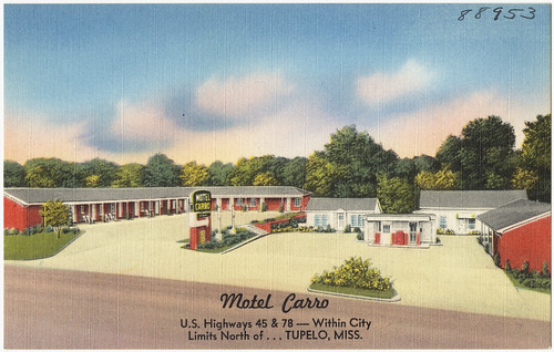 Motel Carro US Highways 45 78 Within city limits North of