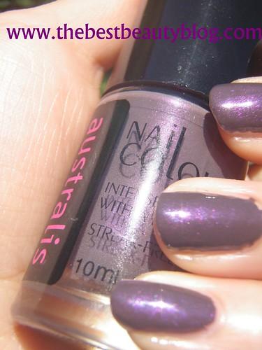 Australis nail polish shimmer