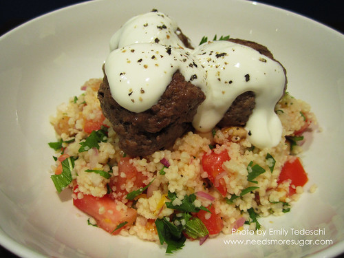 Meatballs with Cous Cous Salad