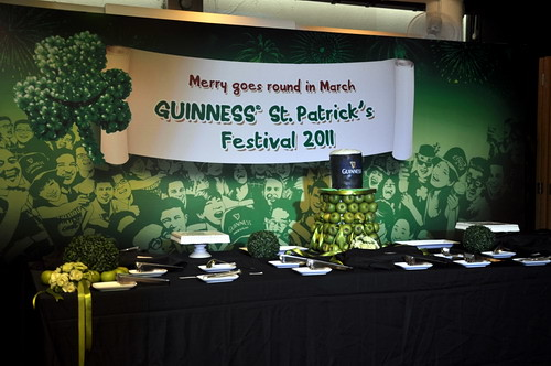 St Patrick Day Cake
