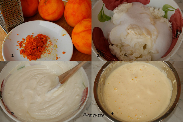 ricetta con foto cheesecake all'arancia