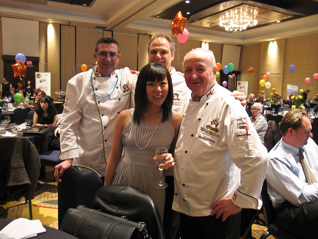 @GourmetFury with several chefs
