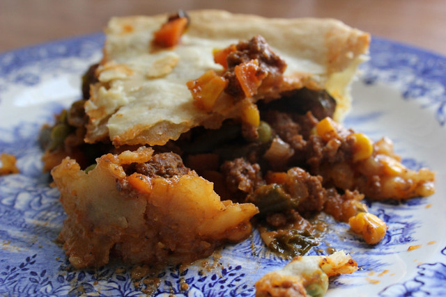 Beef and Veggie Pot Pie