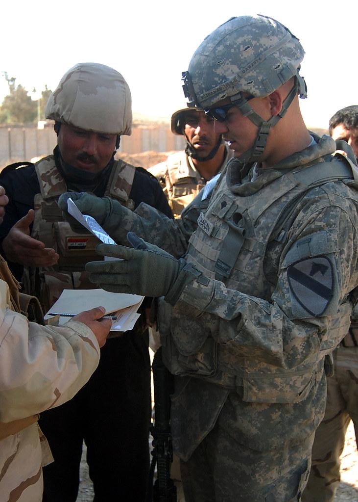'Head Hunters' train IA support Soldiers to sustain Tadreeb al Shamil operations at Ghuzlani Warrior Training Center