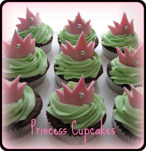 5542050283 4ec2d89422 Princess Cupcake Ideas