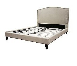 Baxton Studio Line upholstered bed kmart