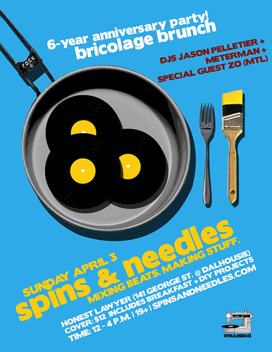 Spins & Needles | 6-Year Anniversary | Bricolage Brunch