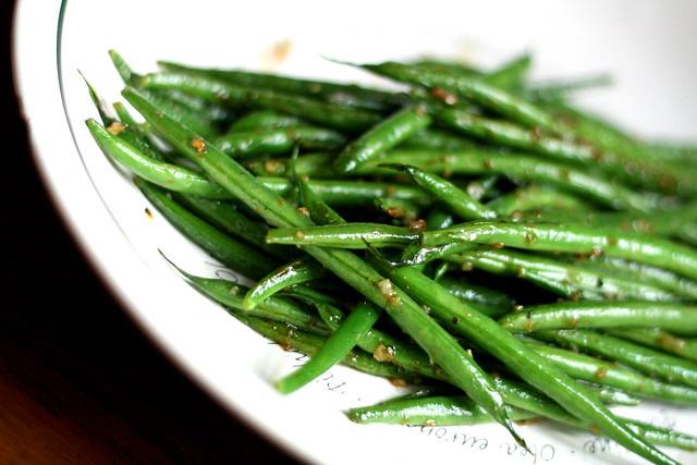Haricot Vert Beans Haricots Verts Guisado
