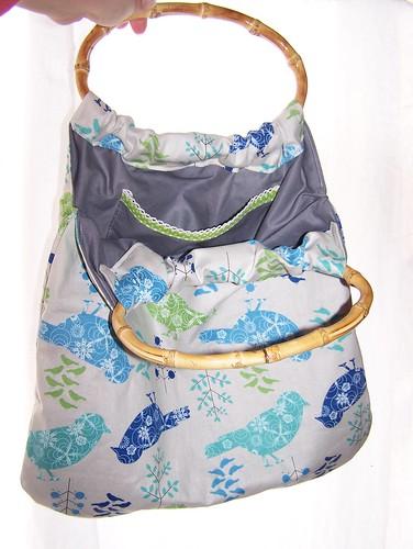 Spring bag, reversible