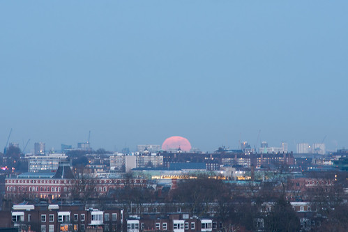 Primrose Hill Sunset and Moon-11