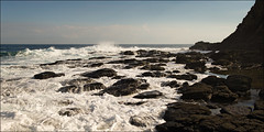cape-schanck-1964-ps-w (pw-pix) Tags: sky blur wet water rock flow movement rocks waves horizon wave australia blurred victoria wash foam land incomingtide flowing rough splash morningtonpeninsula foamy headland swishy lateafternoon splashing capeschanck swooshy westernportbay