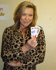 Actress Claire King supporting Great Ormond Street Hospital for children