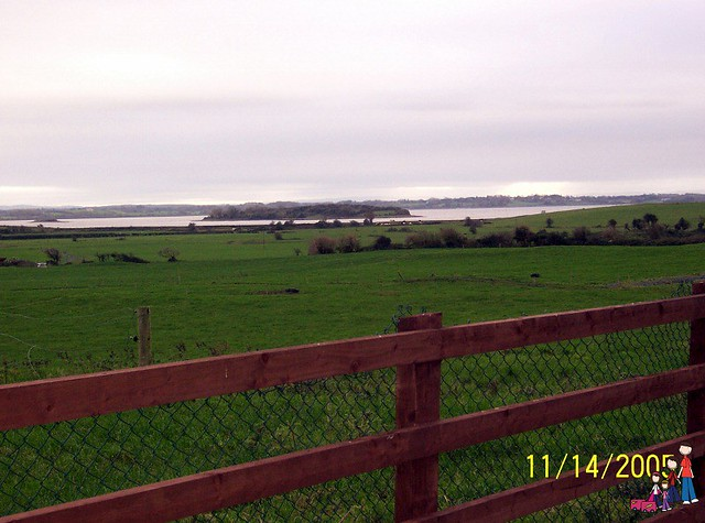 Shannon Estuary viewed from Bunratty Meadows B&B