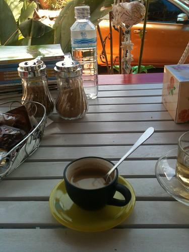 Un café au milieu de nulle part