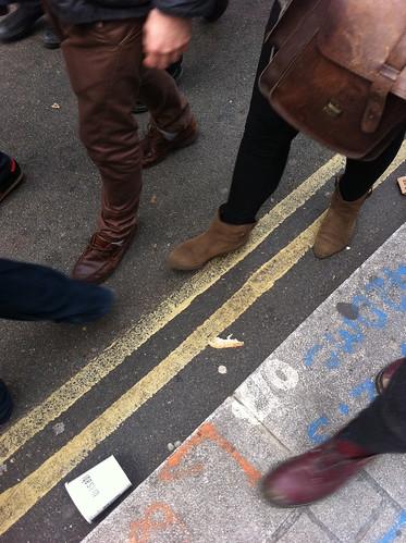 Feet, marching