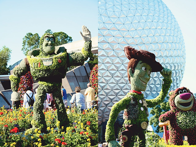 Epcot Toy Story topiary