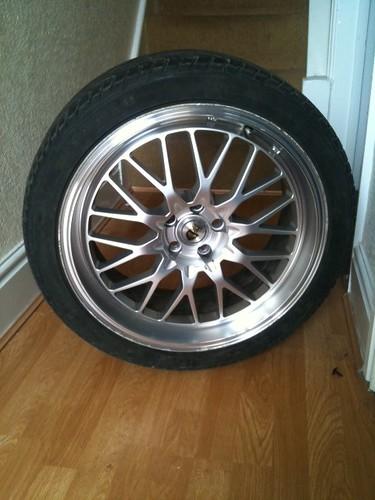 """18""""x 8 /// 5x100 cades tyrus wheels+tyres. 5564517518_3d1424bafd"""