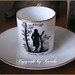1920 Goethe silhouette mocca cup