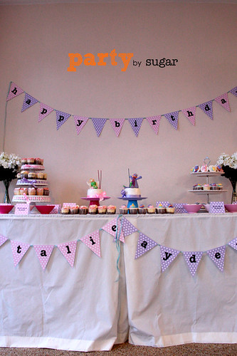 pink & purple theme party1