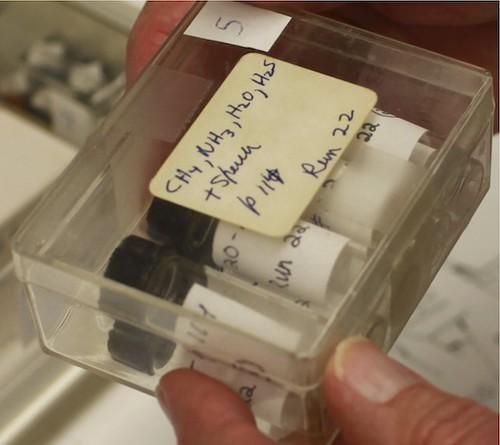 Stanley Miller's vials