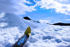 Cosa volere di pi... (gabrielecislaghi) Tags: wild sky lake snow ski ice expedition norway norge iceland adventure neve terre polar artic sci norvegia nord glacial ghiaccio pulka polares avventura spedizione polari tierres