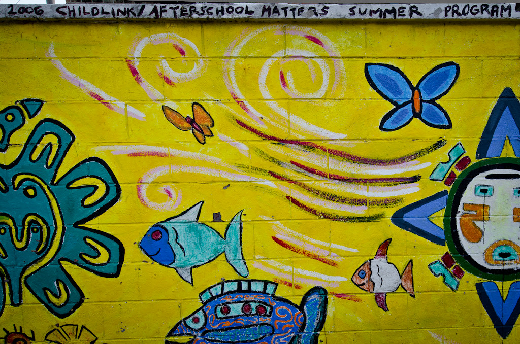 2006 Childlink/Afterschool Matters Summer Program Mural - Pilsen by graceyheartphotography, on Flickr
