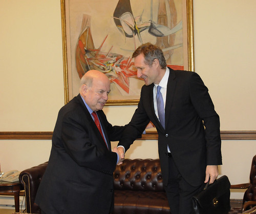 OAS Secretary General Meets with Executive Secretary of the Preparatory Commission for the CTBTO