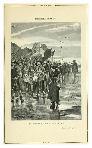 010-Han de Islandia 2-Cent dessins  extraits des oeuvres de Victor Hugo  album specimen (1800)