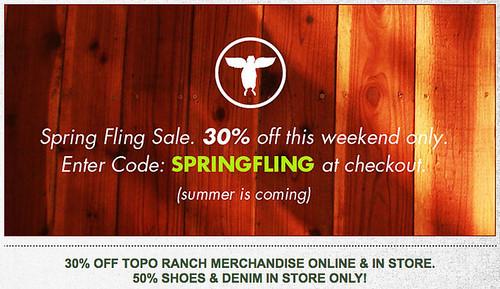Topo Ranch Sale